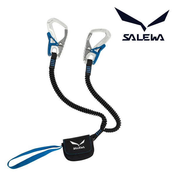 SALEWA Klettersteig Set Via Ferrata Ergo Core silber/blau