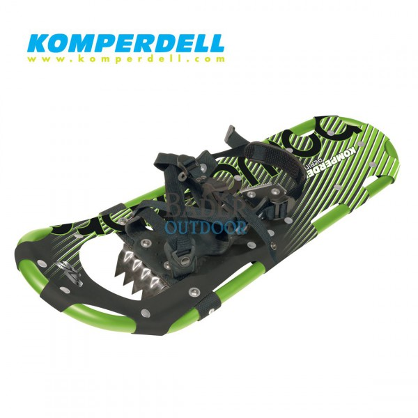 KOMPERDELL Schneeschuh Alpinist A25 grün