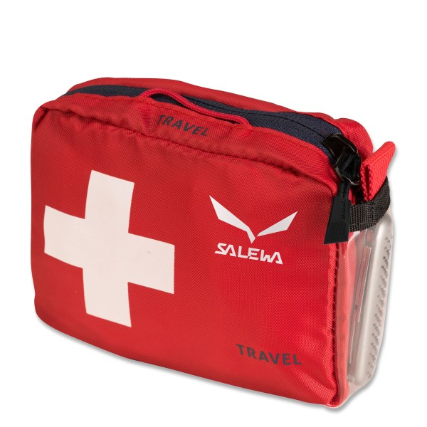 SALEWA First Aid Kit Travel dunkelrot