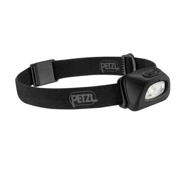 PETZL Stirnlampe Tactikka® + schwarz