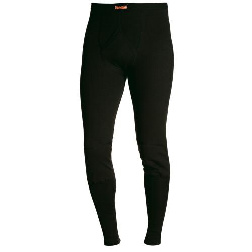 TERMO® ORIGINAL lange Unterhose mit Eingriff Schwarz