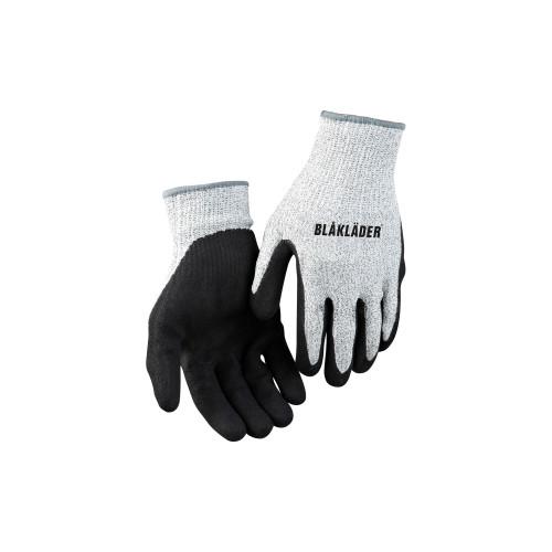 BLAKLÄDER Schnittschutzhandschuh schwarz melange/grau