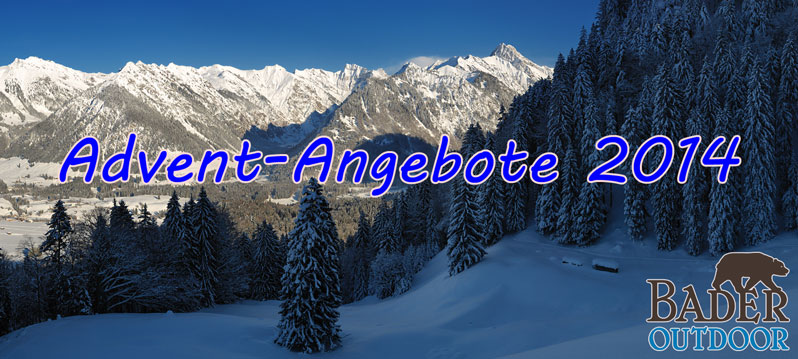 Advent-Angebote 2014 - Bader-Outdoor.de