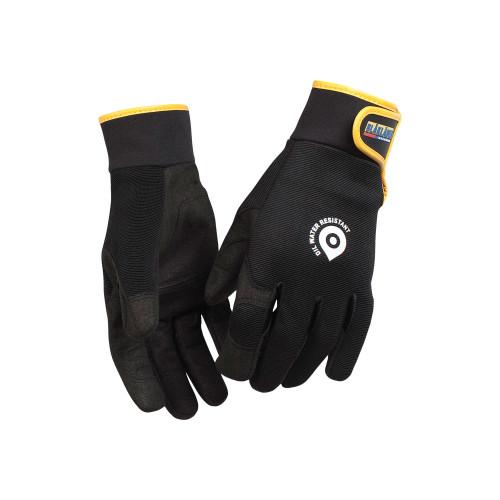 BLAKLÄDER Handschuh Handwerk wasserabweisend schwarz