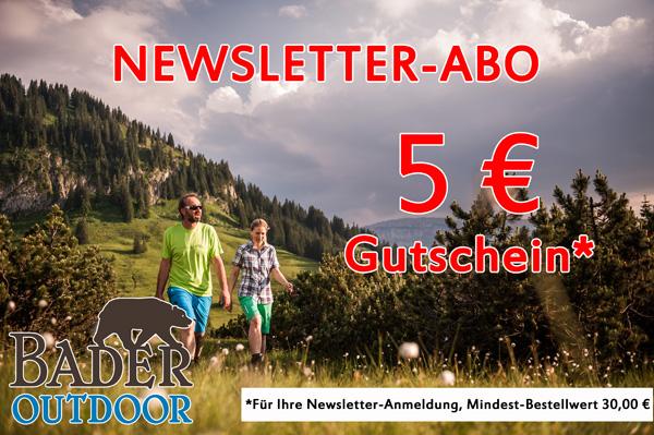 Newsletter-Abo - Bader Outdoor