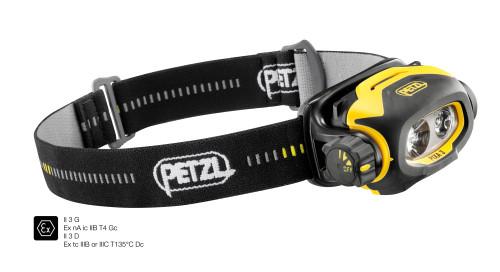 PETZL Stirnlampe Pixa® 3 schwarz/gelb