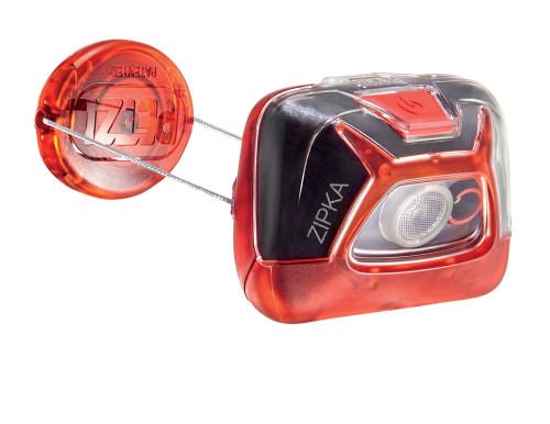 PETZL Stirnlampe Zipka® rot